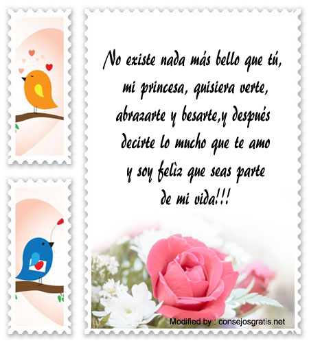 Bonitas Tarjetas Con Mensajes De Amor Para Mi Novia Frases De Amor