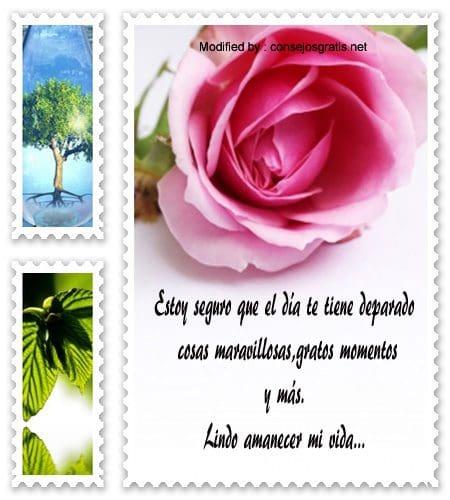 Mensajes Bonitas De Buenos Dias Para Mi Amor Frases De Buenos Dias