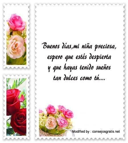 Bellas Frases De Buenos Dias Para Mi Novia Mensajes De Buenos Dias