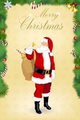 Tarjetas de navidad para la familia que esta lejos