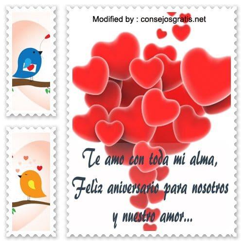 Frases Para Mi Novio Por Nuestro Aniversario Mensajes De Amor