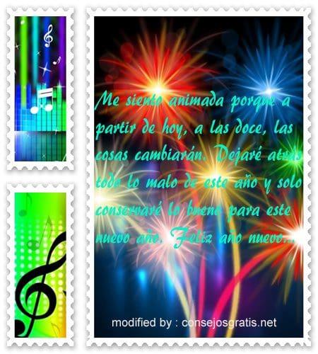 mensajes de año nuevo, enviar mensajes de año nuevo para facebook
