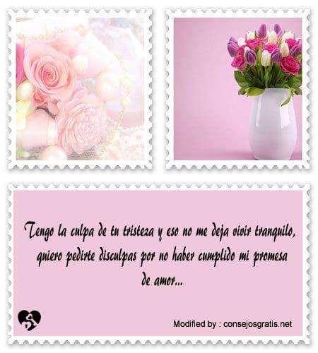 Bonitas Mensajes Para Pedir Disculpas Frases De Amor