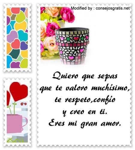 Cositas Romanticas Para Dedicar A Mi Novia Frases De Amor Para Mi