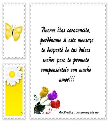 Bellas Frases Y Mensajes De Buenos Dias Para Mi Amor Textos De