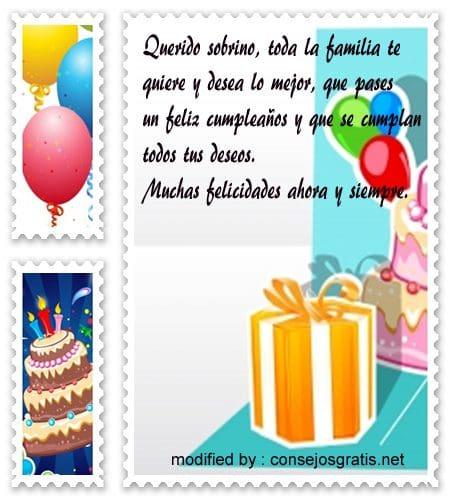 Tarjetas Y Saludos De Cumpleaños Para Un Sobrino Especial 10 000 Mensajes de Navidad y Frases