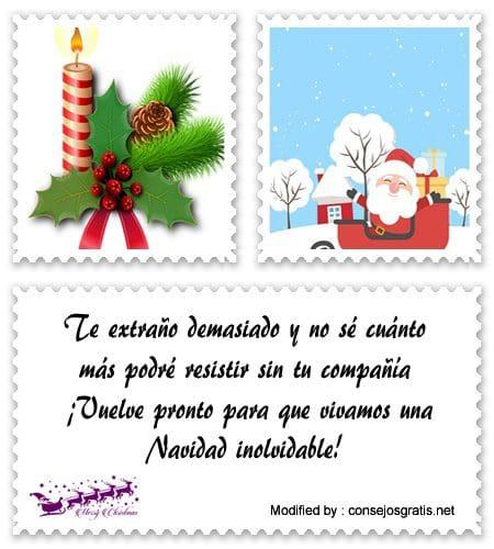 Bellas Frases De Navidad A Mi Novio Que Esta Lejos Mensajes De
