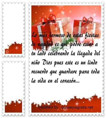 postales de mensajes de Navidad,textos lindos para mi amor por Navidad