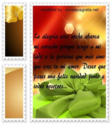 postales de mensajes de Navidad,cariñosos saludos para mi novio por Navidad