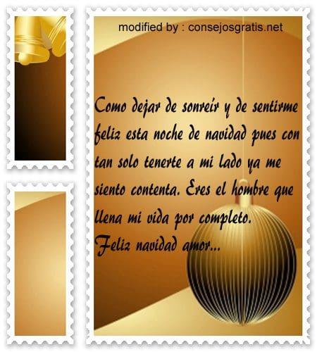 postales de mensajes de Navidad,tiernas y originales frases para desearle a mi novio feliz Navidad