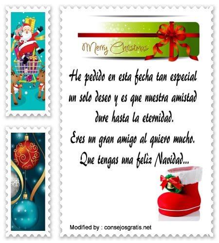 Saludos de navidad para un hijo