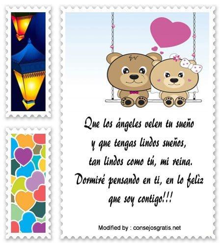 Romanticas Frases De Amor De Buenas Noches Mensajes De Buenas