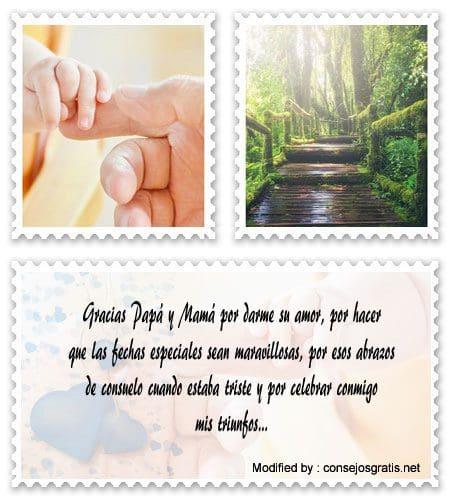 Bonitos Mensajes De Agradecimiento Para Padres Frases De Agradecimiento Consejosgratis Net