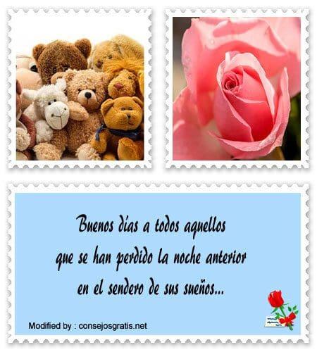 Mensajes Bonitos De Buenos Días Princesa Frases De Buenos Días