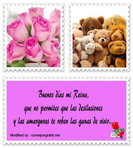 Mensajes Bonitos De Buenos Dias Princesa Frases De Buenos