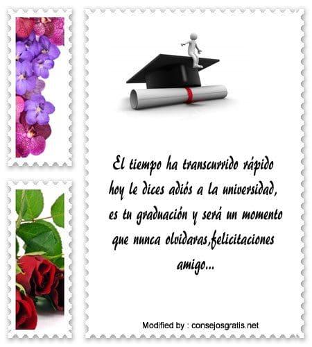 Felicitaciones Por Graduación De Bachiller Saludos Por