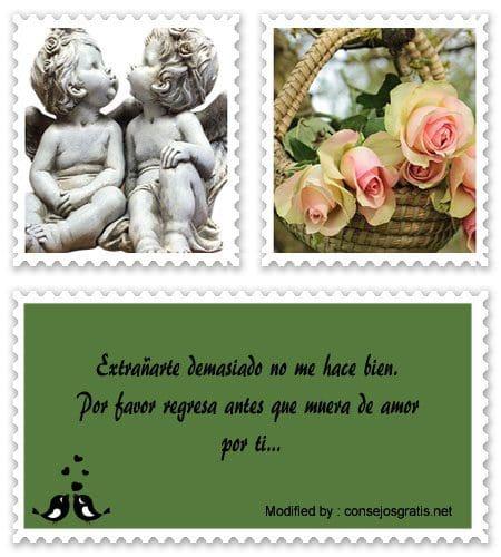 Frases De Amor Te Extrano Mucho Mensajes De Amor 10 000 Mensajes