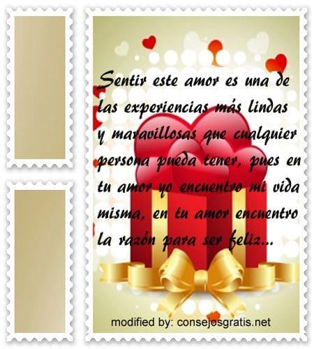 Mensajes de amor para parejas,cariñosas frases para expresarle amor a mi pareja