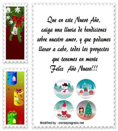 Cartas De Feliz Año Nuevo Para Mi Amor Saludos De Año Nuevo