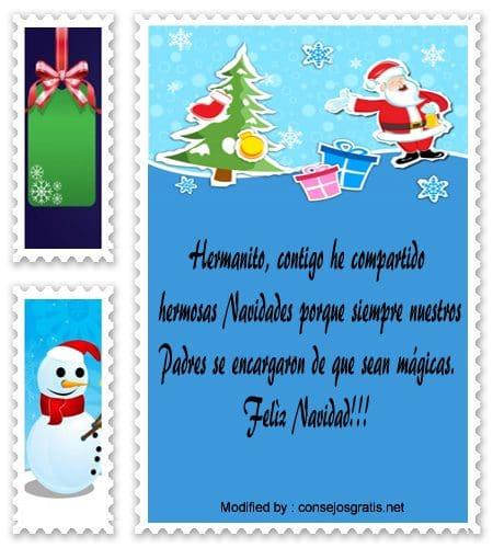 buscar bonitos textos para enviar en Navidad a mi hermano,descargar poemas para enviar en Navidad a mi hermano
