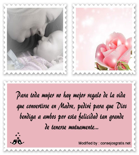buscar palabras para felicitar a Padres por bebé por nacer, pensamientos bonitos para la llegada de un bebé