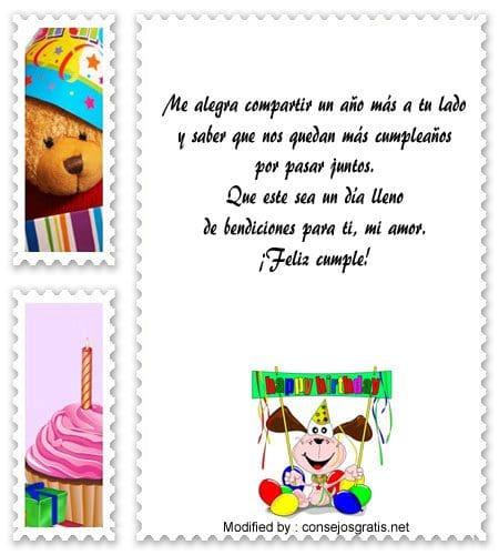 Bonitos Mensajes De Cumpleaños Para Mi Novio Frases De Cumpleaños