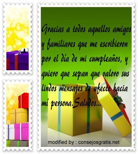 Lindas Frases Para Agradecer Saludos De Cumpleaños Con