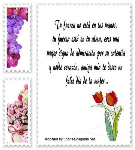 tarjetas y mensajes por el dia de la mujer