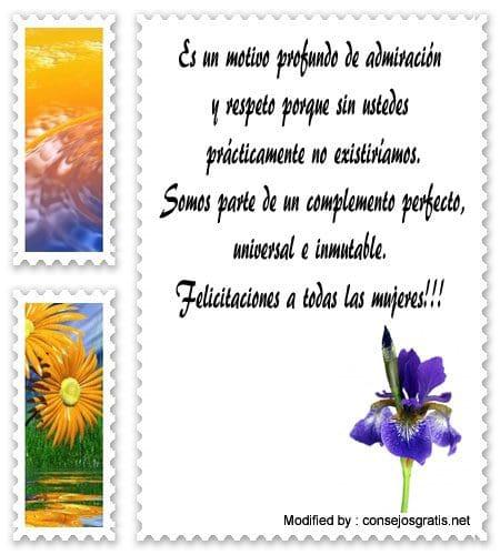 Originales Textos Por El Día De La Mujer Frases Por El Día