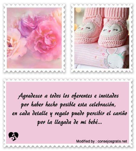 Bellas Frases De Agradecimiento Por Baby Shower Frases