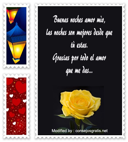 Mensajes Romanticos De Buenas Noches Para Mi Novia Frases De