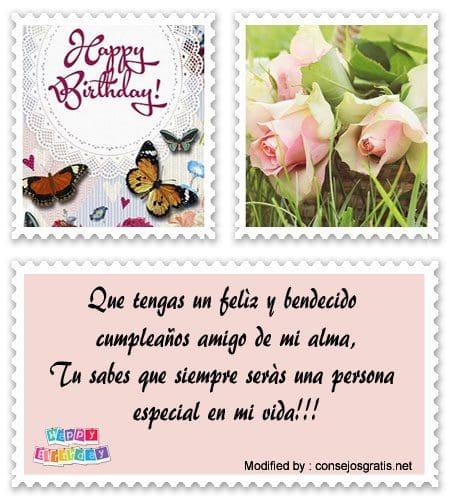 Feliz Cumpleaños Para Mi Amigo Saludos De Cumpleaños Para