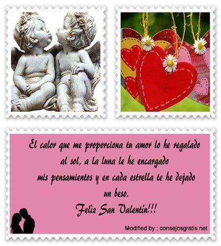 frases y mensajes románticos para San Valentin,mensajes para San Valentin bonitos para enviar,