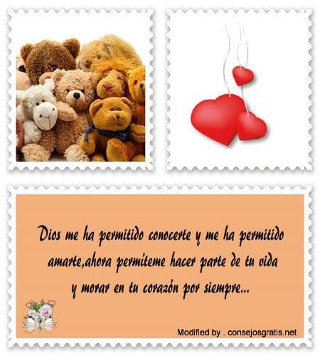 Lindos Mensajes Para El Corazón De Mi Novia Frases De Amor