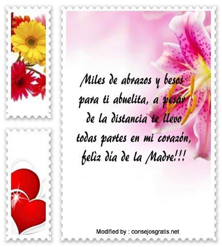Mensajes Del Día De La Madre Para Mi Abuelita Frases Para El Día