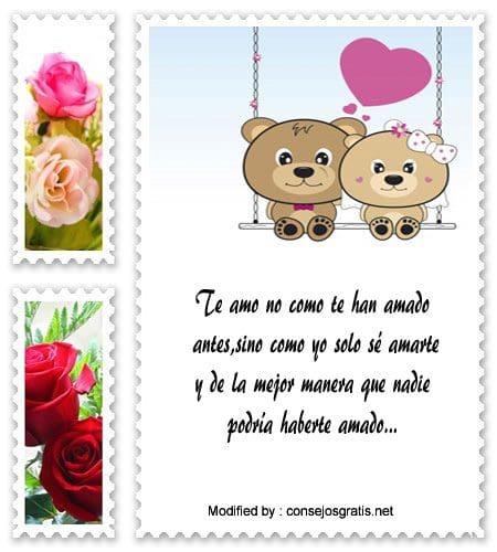 Bellas Frases De Amor Para Recien Enamorados Tarjetas De Amor