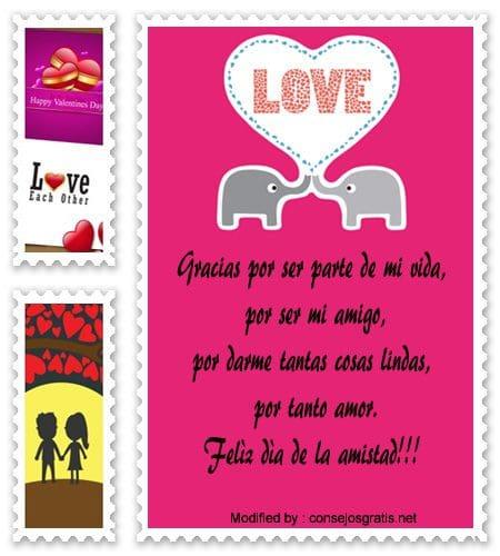 Lindos Mensajes Por El Dia Del Amor Y La Amistad Con Imagenes