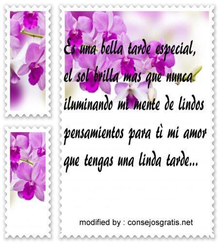 Tarjetas Y Mensajes De Buenas Tardes Con Amor 10 000 Mensajes De