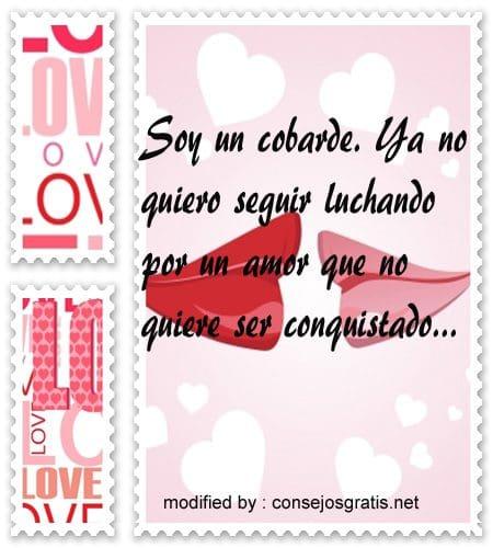 mensajes de amor66,Bellos mensajes para un amor rechazado