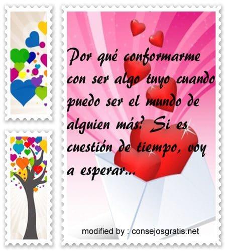 mensajes de amor68,Originales dedicatorias para expresar por un amor imposible