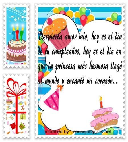Mensajes Para Felicitar A Mi Novia En Su Cumpleaños Con Fotos Consejosgratis Net