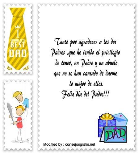 Mensajes Para Felicitar A Mi Padre Y Mi Abuelo En Su Día