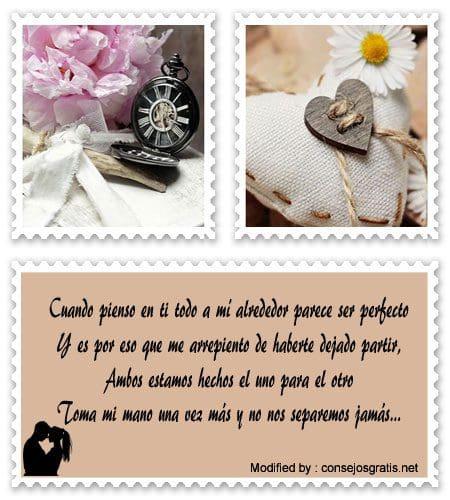 Poemas De Amor Para Recuperar A Mi Pareja Frases De Perdon