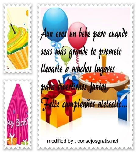 mensajes de cumpleanos3,nuevas frases de feliz cumpleaños para mi nieto