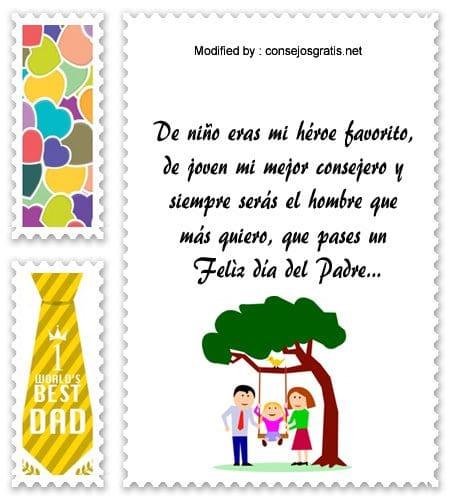 Tiernas Frases Por El Día Del Padre Mensajes Por El Día Del Padre Consejosgratis Net