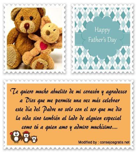 Enviar Cariñosa Carta Por Día Del Padre A Mi Abuelo Frases Bonitas
