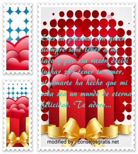 Mensajes de San Valentin para un amor eterno,palabras de amor para compartir con mi pareja en el día del amor