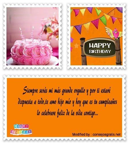 Excelentes Frases De Cumpleaños Para Niños Saludos De