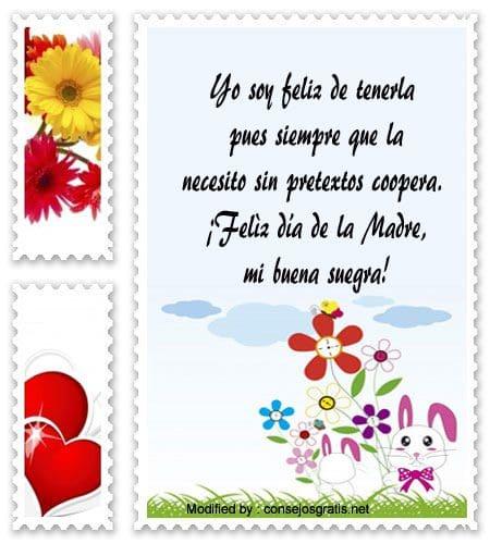 Mensajes Y Postales Para Mi Suegra Por El Día De La Madre