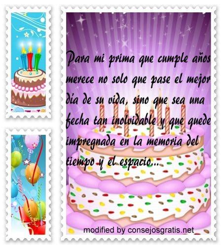 Bonitas Frases Para Felicitar A Mi Prima En Su Cumpleaños